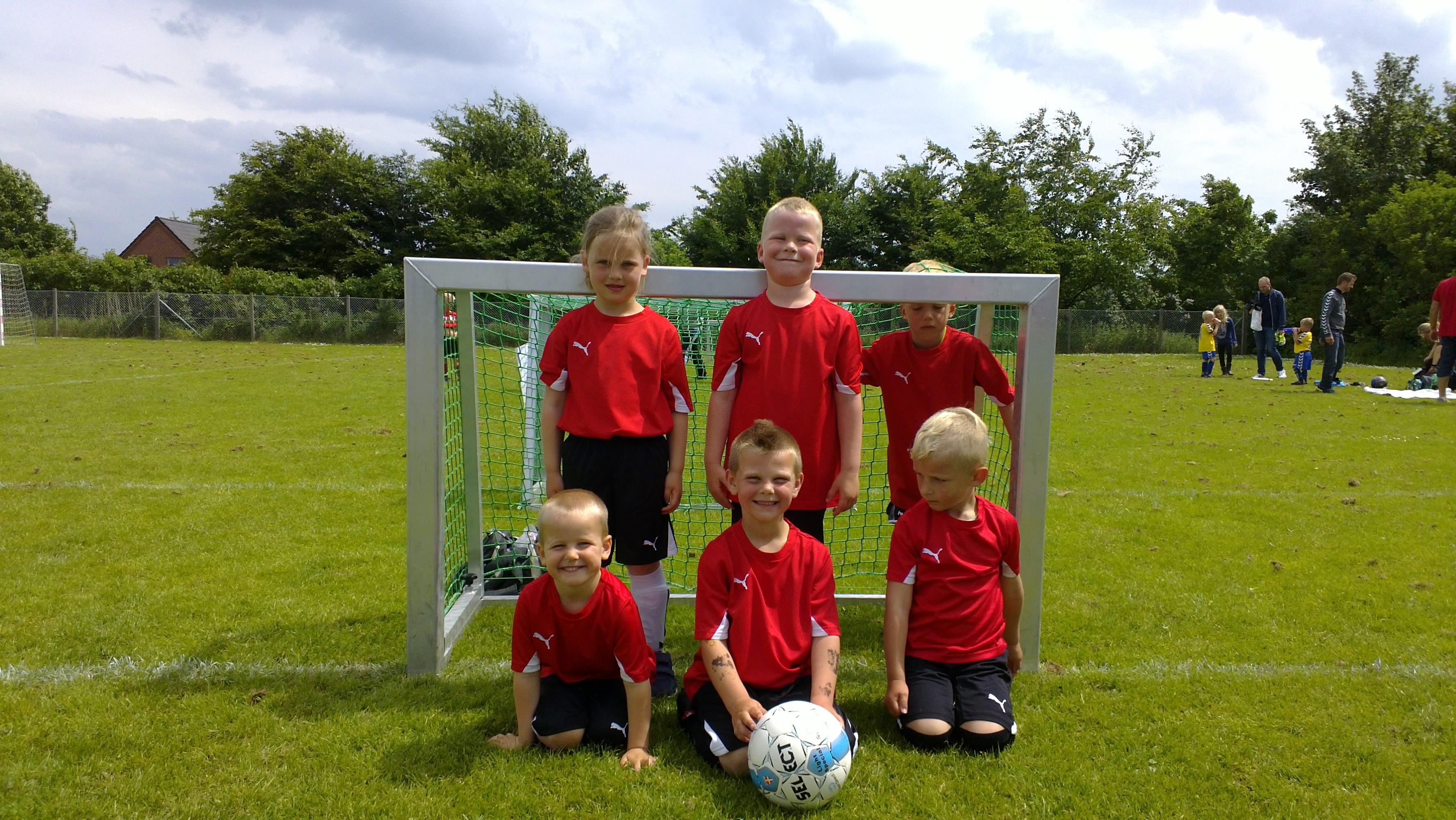 Fodbold holdet